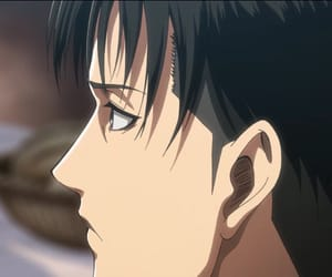 anime, levi, and shingeki no kyojin image
