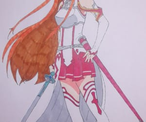 anime, draw, and sword art online image