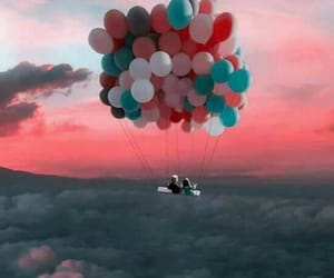 balloons, freedom, and love image