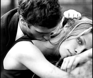 couple, neck kiss, and romance image