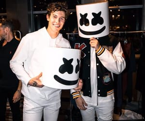 shawn mendes, marshmello, and boy image