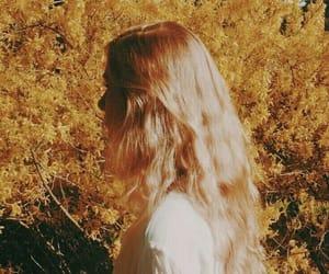 yellow, model, and aesthetic image