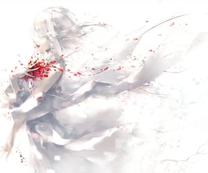 rose, anime, and art image