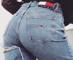 denim, fashion, and tommy image