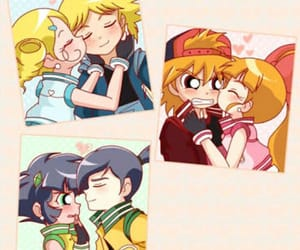 kisses, powerpuff girls, and ppgxrrb image