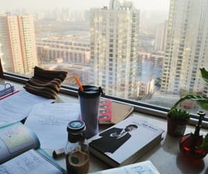 study, view, and back to school image
