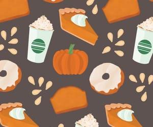 pumpkin, donuts, and fall image