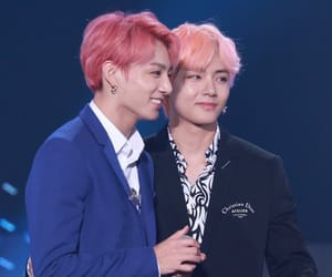 k-pop, taekook, and bts image