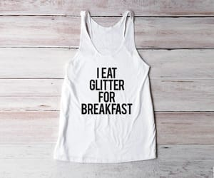 breakfast, follow, and glitter image