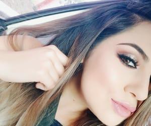 false lashes, makeup, and perfect makeup image