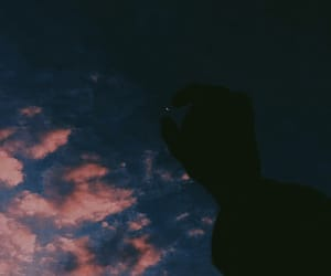 good, night, and sky image