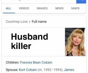 Courtney Love, kurt cobain, and lol image