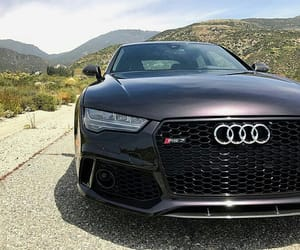 audi, auto, and car image