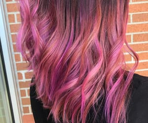 color, pink hair, and hair image