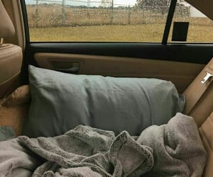 car, rain, and travel image