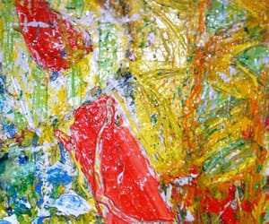 abstract art, south african artist, and Painter image