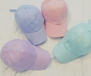 caps, hats, and pastel image