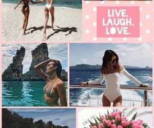 boat, summer, and vacation image