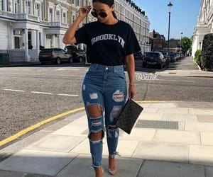fille, frappe, and jeans image