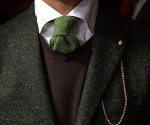 suit, green, and aesthetic image