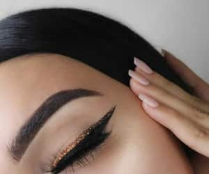 beautiful, tumblr, and brows image