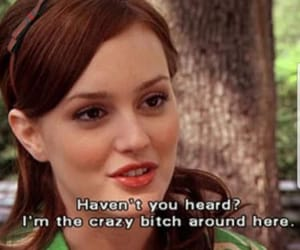gossip girl, blair waldorf, and bitch image