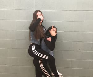 adidas, love, and besties image