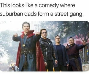 lol, memes, and Marvel image