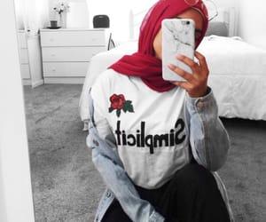 beautiful girl, girl, and muslim image