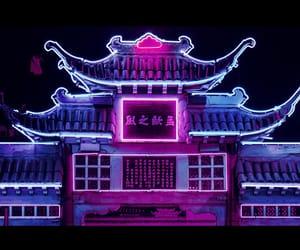 aesthetic, neon, and night image