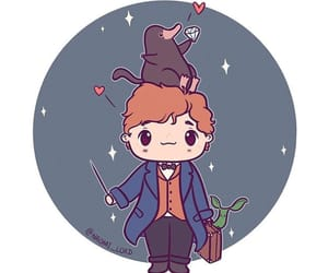 art, chibi, and newt image