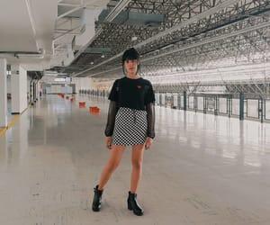 bangs, fashion, and goth image
