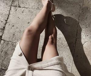 fashion, heels, and skirt image