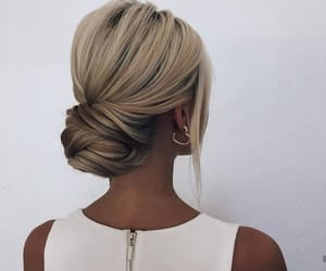 blond, coiffure, and stylé image