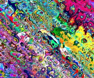 trippy, background, and colors image