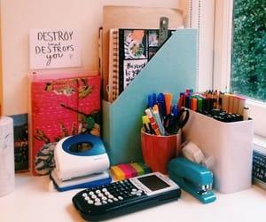 study and desk image