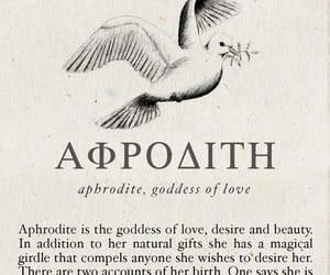 aphrodite, mythology, and greek mythology image