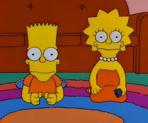 the simpsons, 90s, and cartoon image