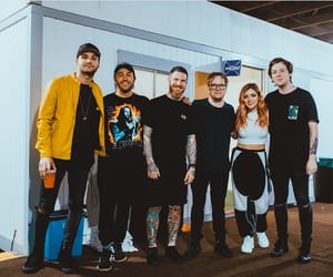 patrick stump, chrissy costanza, and dan gow image