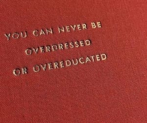 quotes, red, and overdressed image