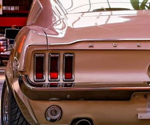 american, brown, and muscle car image