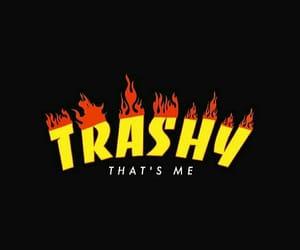 trashy, aesthetic, and black image