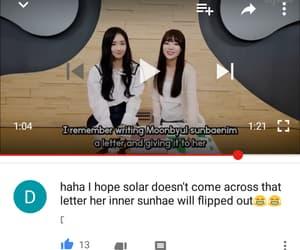 fangirl, moonsun, and moonbyul image