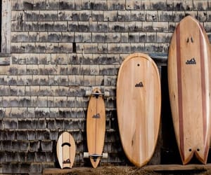 surf, surf board, and wood image