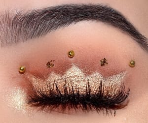 art, beauty, and eyebrows image