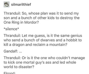funny, gandalf, and hobbit image