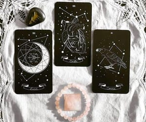 witch, tarot, and witchcraft image