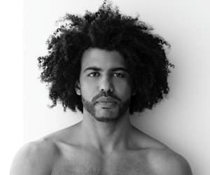 Afro, body, and lips image