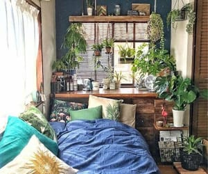 decor, green, and room image