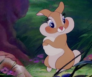 bambi, bunny, and disney image